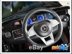 Mercedes-benz S63 Kids 12v Electric Ride On Car /remote Control Radio Mp3 Black