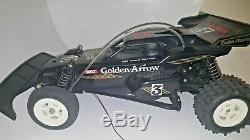 Mint Cond Radio Shack Golden Arrow Buggy Remote Control Rc Car 1/10 Off-road