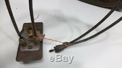 Motorola Model 850 1930s Car Radio & Remote Vintage Aftermarket Under Dash