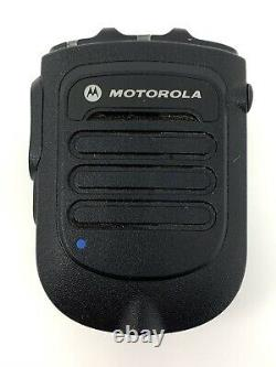 Motorola RLN6544 Wireless Remote Speaker Microphone +Battery +Clip +Car Charger