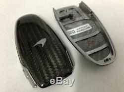 NEW McLaren Carbon Fibre Car Key Cover Shell Keyless Entry Remote 12C 650S 657LT