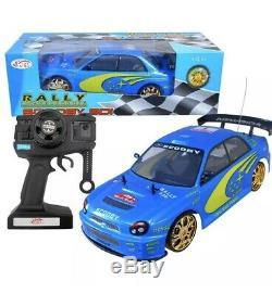 NEW Subaru Scooby IMPREZA Radio Remote Control Car 1/10 RC Rally Championship