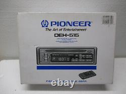 NEW Vtg NOS Pioneer DEH-515 CD Player FM/AM Tuner Car Truck Radio WithRemote NICE