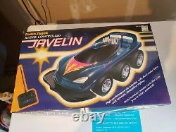 NICE RARE Radio Shack Javelin R/C Remote Control Car Vintage Works 6WD