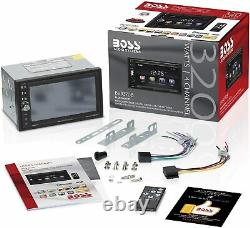 New Boss Bluetooth 6.5 Touchscreen Car Stereo USB/SD AM/FM Radio AUX EQ Remote