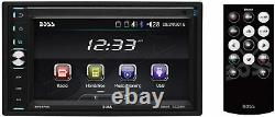 New Boss Bluetooth Touchscreen Car Stereo USB/SD AM/FM Receiver AUX-IN EQ Remote