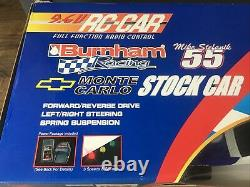 New Bright Burnham Racing NASCAR Monte Carlo 9.6V Remote Radio Control Car RC