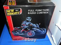 New Bright Can-am Spyder Brp Full Function Remote Radio Control Car R/c Vehicle