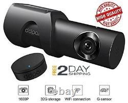 New HD 1600P DDPai Mini3 Wi-Fi with Remote Night Vision Parking Mode 32GB Car Dash