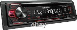 New Kenwood Car Stereo Receiver CD MP3/WMA Player AM/FM Radio USB AUX EQ Remote