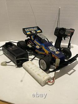 Nikko LOBO II #49 Radio Control Car Fram Buggy, 1 Remote Battery Charger Parts
