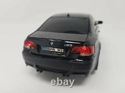 Official Licensed BMW M3 1/24 Scale Radio Remote Control Car Black LED LiGHTS