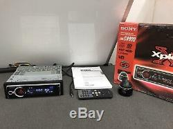 Old Classic Sony Xplod Car Radio Cd Player Cdx-Ca900 Complete Boxed With Remotes