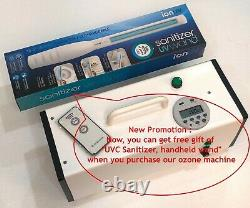Ozone Generator with remote control Air Purifier Odor Remover Deodorizer 20g/hr