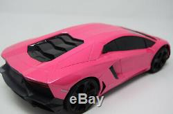 Pink Lambo Rc Car Radio Remote Control Car Wireless 1/16 Scale NEW BOXED