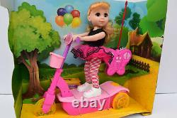 Pink Radio Remote Control Car Scooter with Doll Rc Car (Music & Lights) NEW