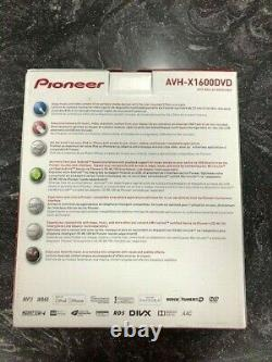 Pioneer AVH-X1600DVD Car Radio with remote new in box