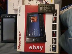 Pioneer bluetooth car stereo, with remote and brand new reverse camera in box