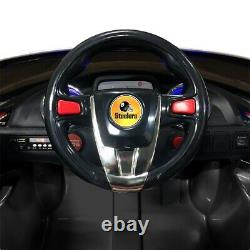 Pittsburgh Steelers Ride On Ultimate Sports Car With Remote Control & Radio Kids