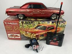 RADIO SHACK 1967 CHEVY IMPALA LOW RIDER WORKS GREAT! RC Car 9.6V With BOX & REMOTE