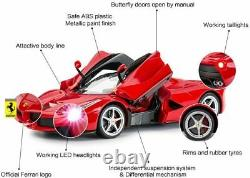 RASTAR RC Car 1/14 Scale Ferrari LaFerrari Radio Remote Control R/C Toy Car x