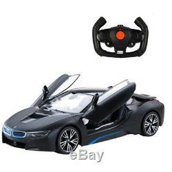 RASTAR RC Cars BMW i8 Radio Remote Control Cars 114 Scale Vehicle 4.8V Dedica