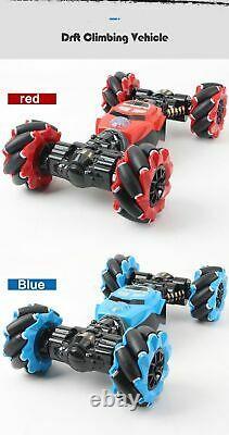 RC Car 4WD Radio Control Stunt Car Gesture Induction Twisting Off Road Drift Toy