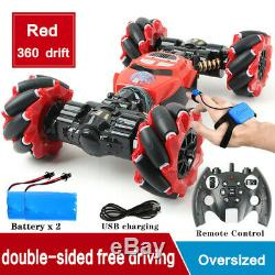RC Car 4WD Radio Control Stunt Car Gesture Induction Twisting Off-Road Vehicle