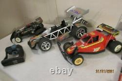 RC Car Buggy Nikko Radio Shack Remote Control Batteries Charger Large Lot