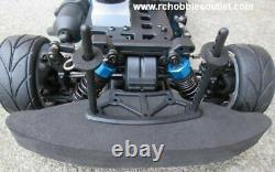 RC Nitro Gas Race Car Radio Remote Control 2.4G 1/10 RTR 4WD GTR-BL