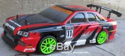 RC Nitro Race Car Radio Remote Control 1/10 Scale 2.4G RTR 4WD 1 Yr Warr. 12334