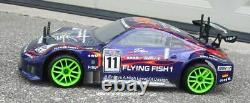 RC Nitro Race Car Radio Remote Control 2.4G 1/10 RTR 4WD 12309