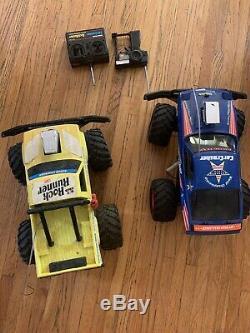 RC Rock Runner Car Crusher Rc Remote Monster Truck / Batterys Radio Shack