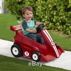 Radio Flyer Grow with Me Racer Battery Powered Ride On with Parent Pilot Remot