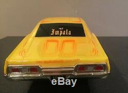 Radio Shack 67 Impala Low Rider RC Car Yellow with remote