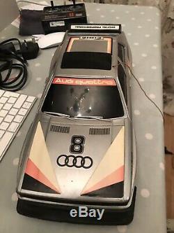 Radio Shack Audi Quatrro Remote Control Vintage Car