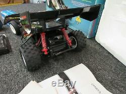 Radio Shack Black Wolf NiCad Battery RC Racing Car Buggy 60-4101 No Remote Retro