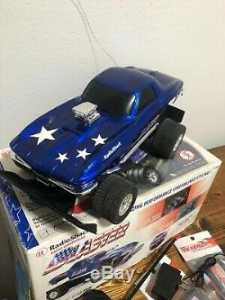 Radio Shack CHEVY CORVETTE BLASTER RC Remote Controlled Car WORKS GREAT