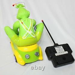 Radio Shack Vintage 2000 How The Grinch Stole Christmas Remote Control Car WORKS