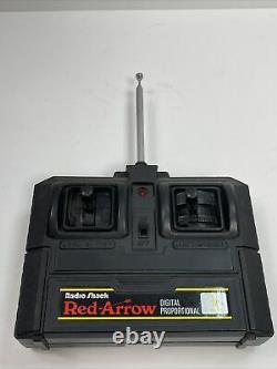 Radio shack Red arrow and golden arrow RC Car vintage remote control