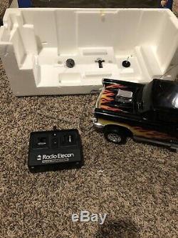 Rare 57 Chevy Radio Remote Control Car, 80s Shinsei Elecon in Original Box EUC