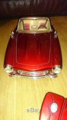 Rare Bratz Rc Red Convertible Car Lights Radio Working With Remote! Discontinued