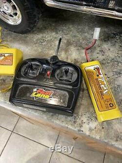 Rare RC 2002 Hummer GM Toys R' Us Fast Lane Radio Control Car + remote & battery