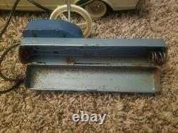 Rare Vintage Giant Tin Masudaya Mercedes 230sl Radio Remote Control Japan 1960