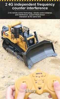 Remote Control 116 Truck Tractor Machine Radio Controlled RC Bulldozer Car Toy