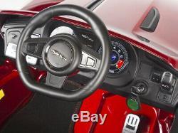 Ride On Car Jaguar F-TYPE 12V Power Remote Control EVA Rubber Wheels Radio USB