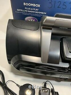 SIRIUS XM Radio Receiver Boombox Car Kit Remote Active Subscription Excellent