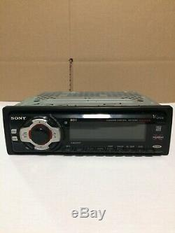 SONY XR-F5100 FM/MWithSW SHORTWAVE RADIO cassette car stereo 52 watts X 4 withremote