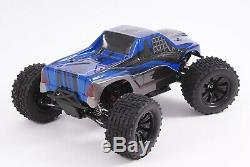 SST Racing RC Radio Remote Control Car FAST Brushless 4WD Expedition Truck Blue