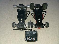 Sears Nikko LOBO II #49 Wolf & #27 Radio Control Cars Fox Frame Buggys, 1 Remote